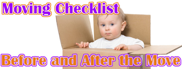 moving checklist for a las vegas moving cmpany